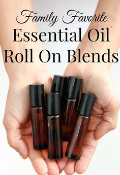 doTerra essential oils Roll on Recipes
