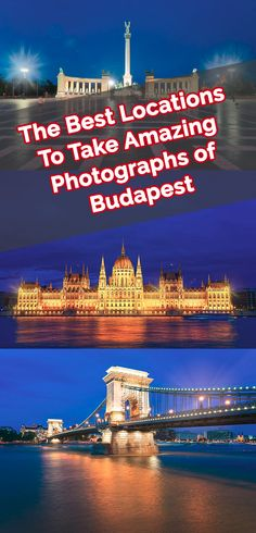 Here are best spots to take photographs of Budapest. Complete with tips and map locations where you can take home a memorable picture Hungary's Capital.