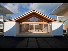 THIS.  Breezway without build out...open & flowing.  Pitched roof w/ solar panels.