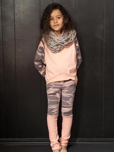 Soft and stretchy leggings with Camoflage print and attached leg warmers. Made in the beautiful USA. Soft and stretchy leggings with Camoflage print and attached leg warmers. Made in the beautiful USA. Fall Outfits For Teen Girls, Cute Girl Outfits, Cute Outfits For Kids, Summer Girls, Trendy Outfits, Teenage Outfits, Toddler Outfits, Little Girl Fashion, Toddler Fashion