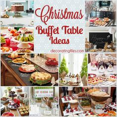 Christmas Buffet Ideas gonna use some of these;)