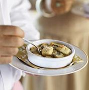 Gnocchi Gratin with Gorgonzola Recipe. Chef Wolfgang Puck. More