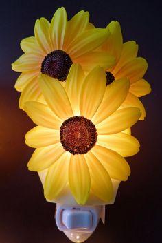 Sunflower Kitchen Decor Sunflower Night Light