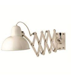 Bloomingville zigzag wandlamp