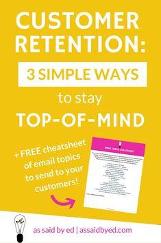 customer retention, business tips, business development, business development tips, website, build your website, grow your business, increase business profits
