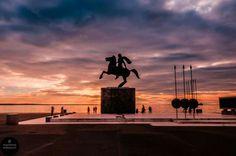 Alexander the Great statue, Macedonia, Thessaloniki, Greece