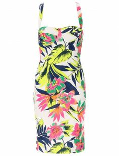 Womens Fashion Chicago Wholesale Floral Cross Back Dress     #chicago #floraldress #londonfshionwholesaler #fws #worldcup2014