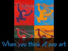 Pop Art and Andy Warhol video. Intro to pop art Andy Warhol Pop Art, U2 Music, Art Classroom, Flipped Classroom, Ecole Art, Art Lessons For Kids, School Art Projects, Art And Technology, Art Lesson Plans