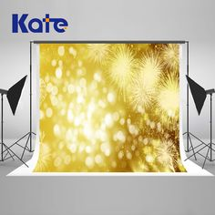 Yellow Bokeh Photography Backdrops Happy New Year Backgrounds Fantasy For Children Backgrounds For Photo Studio Happy New Year Background, Bright Background, Bokeh Photography, Photography Backdrops, Birthday Backdrop, Background Information, Official Store, Photo Studio, Backgrounds