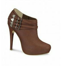 !Brand new andrea ankle boots Brown Shoes Ankle Boots & Booties