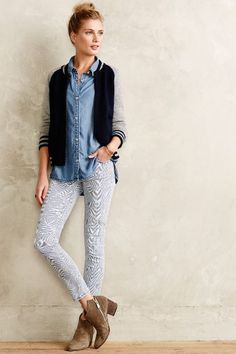 Current/Elliott Stiletto Skinny Jeans - anthropologie.com #anthrofave