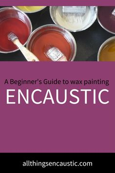 Rules & techniques for Encaustic Collage: Encaustic is an ideal medium for mixed media. Wax can both preserve and adhere collage elements to the painting. Wax Art, Encaustic Painting, Painting Art, Paintings, Painting Abstract, Painting Tips, Painting Techniques, Sculpture Techniques, Painting Process