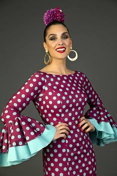 Flamenco Costume, Dance Costumes, African Wear, African Fashion, Beautiful Dresses, Lace Dress, Style Me, Polka Dots, Gowns