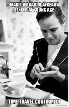 Marlon Brando using Babylonokia