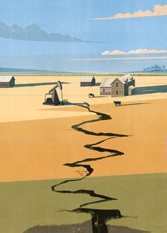 'Oklahoma' illustrated by SHOUT for The New Yorker #newyorker