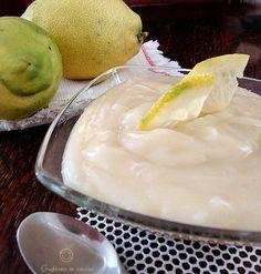 crema al limone senza uova latte zucchero