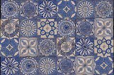 Tiles (Portugal?, Morocco?)