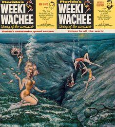 Weeki Wachee (Florida Attraction) brochure - 1960s by ElectroSpark, via Flickr