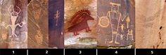Pictographs and petroglyphs from around Dinosaur NM., Vernal trip round 2, #Utah #Colorado