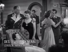 """DES TEUFELS GENERAL (1955) Filmausschnitt """"Kennenlernen"""""""