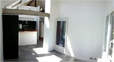 Aménagement d'un grenier en mezzanine, séjour cathédrale, ouverture verticale d'une maison Cabinet, Storage, Blog, Design, Furniture, Home Decor, Home Remodeling, Couple Room, Living Spaces