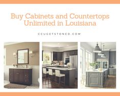 With CC Unlimited it's easy to plan and visualize your kitchen remodel. Create your floor plan, furnish and decorate, then visualize in all online! Quartz Kitchen Countertops, Cabinets And Countertops, Kitchen Planner, Bathroom Vanities, It's Easy, Kitchen Remodel, Kitchen Design, Floor Plans, Vanity