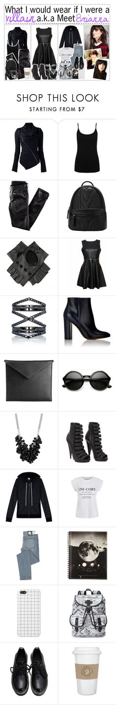 """""""43. Brianna is baile de favela"""" by h-awkeye ❤ liked on Polyvore featuring M&Co, H&M, Eva Fehren, Gianvito Rossi, Mark/Giusti, Betty Jackson, Gucci, Splendid, Ally Fashion and Cheap Monday"""