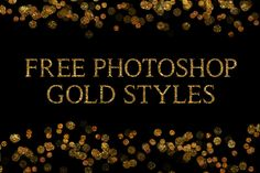 DLOLLEYS HELP: Free Photoshop Gold Styles