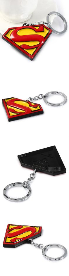 Superman Mark Metal Key Chain - FREE SHIPPING - Price: $2.91 - Buy Now: https://ariani-shop.com/s/153771