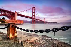 Golden Gate Bridge San Francisco by David Yu