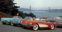1st generation Corvettes.... i would die for one of these.... well... figuretively