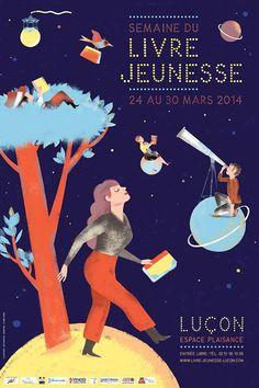 Julia Wauters, Affiche: Semaine du Livre Jeunesse Luçon