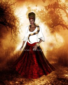 Painting of the real Marie Laveau. Angela Bassett portrays her in American Horror Story Coven