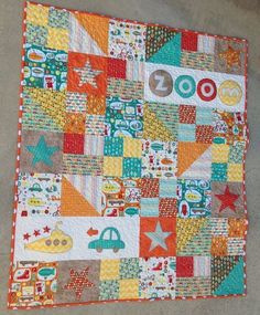 Boy Crazy QUilt--free pattern