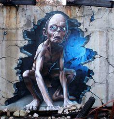 30 Extraordinary Graffiti and Wall Paintings - Hongkiat