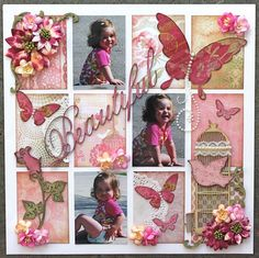 scrapbook ideas for vintage photos | Ideas for Scrapbookers: Designer Showcase: Blocked/Shadow Box
