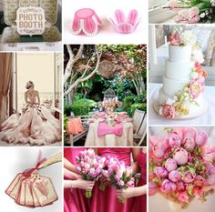 Pink tulip wedding inspiration