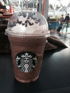 Starbucks from Vancouver International Airport.