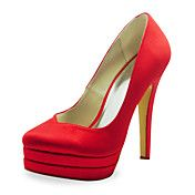 Fashion+Satin+Stiletto+Heel+Pumps+Wedding+Sho...+–+USD+$+79.99