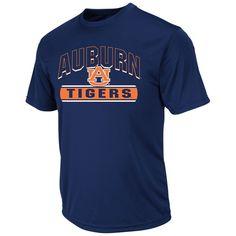 Auburn Tigers Colosseum Big & Tall Rushing T-Shirt - Navy