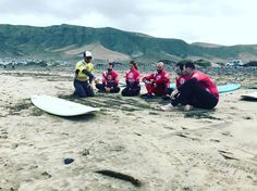 Come and enjoy some surfing lessons on Famara beach with @lasantaprocenter #lasantaprocenter #surfschool #surfschoollasantasurf #lanzarotesurfcamp #surfcamp #surfcamplanzarote http://ift.tt/SaUF9M