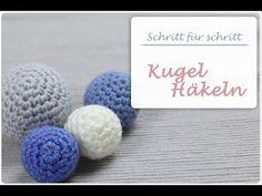 Häkeln lernen - Häckelball // Amigurumi Ball // Kugel ( Anleitung für Anfänger ) - YouTube