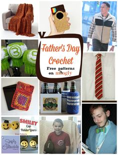 Crochet Patterns For Men s Gifts : 1000+ images about Crochet For Men on Pinterest Pattern ...