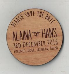 Save the Date Magnet for Alaina Save The Date Magnets, Save The Date Cards, Fort Collins, Bamboo Cutting Board, Dates, Bride, Wood, Wedding, Wedding Bride