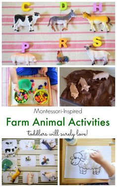 Montessori-Inspired Farm Animal Activities for Toddlers from The Pinay Homeschooler