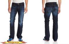 "DIESEL ""Zatiny"" Regular Boot Cut Dark Blue Jeans in 0RUS5 NEW NWT  #DIESEL #BootCut"