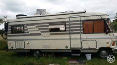 Camping car mercedes hymer