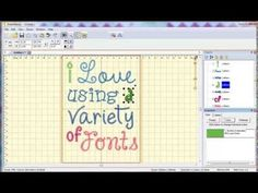 Video 7: How to Create a Text Design Using Multiple Fonts from The Itch 2 Stitch - YouTube  https://www.theitch2stitch.com/How-to-Use-the-BX-format-with-Embrilliance_b_6.html