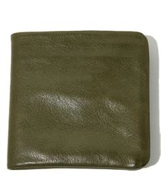 VEGETABLE TANNED LEATHER BILFORD WALLET - 12-13 F/W EDITION
