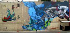 Polish Pair Etam Cru Create Street Sized Street Art   Lost in Internet
